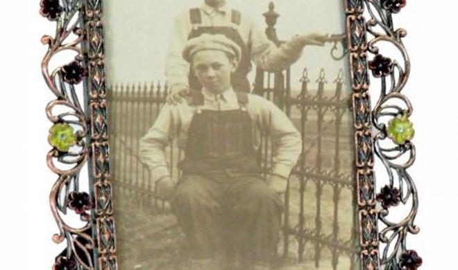 Portafoto impreziosito di swarosky