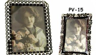 portafoto con perle